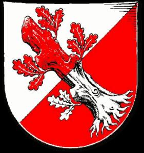 Das Wappen der Stadt Wahlsted